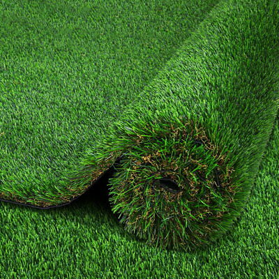 NEW 5 SQM Durable Artificial Grass Synthetic Turf Lawn Flooring 40mm Pile Green