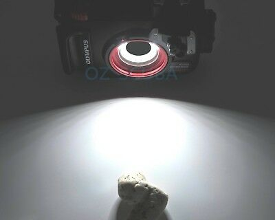 Olympus TG 5, PT-058 Underwater Housing Marco LED Ring Light, New version *