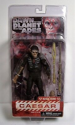 Caesar Planet Of The Apes Action Figure Dawn Of Mosc Neca Reel Toys Series 1 Htf