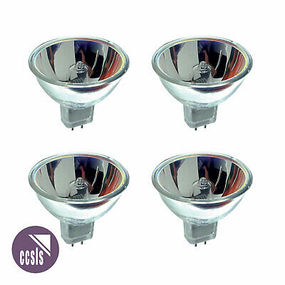 Ushio ELC-5 24v 250w 500HR Replacement Lamp x4