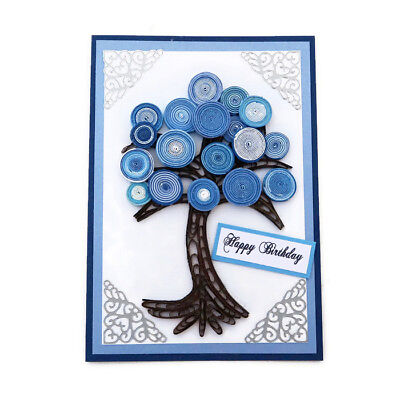 NEW Card Paper Quilled Tree of Life -Birthday-Family-Nature Gardener Florist