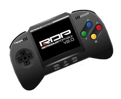 NEW RDP Retro Duo Portable V2 Game System for NES and SNES Games