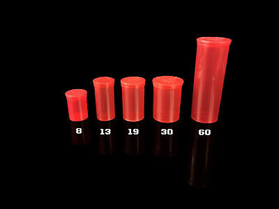 SQUEEZE PoP ToP JARS CHOOSE CoLoR RED, DRAM SIZE & CONTAINERS COUNT QTY CASE USA