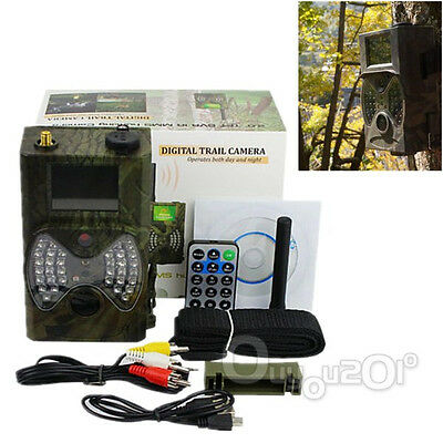 Pro 36 LED HC-300M HD 12MP 940NM MMS/GPRS Scouting Infrared Trail Hunting Camera