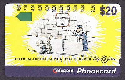 *TERRY'S MINT $20 PHONECARD CLEARANCE.Telecom.LIFELINE.Prefix 797.*