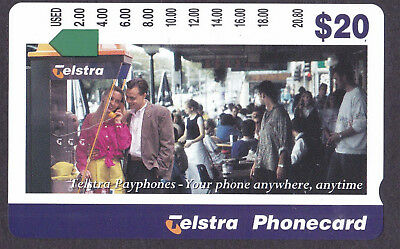 *TERRY'S MINT $20 PHONECARD CLEARANCE.Telstra.PAYPHONE.Prefix 1255.*