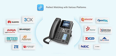 FANVIL X4G GIGABYTE IP phone perfect for 3CX and Kenttec