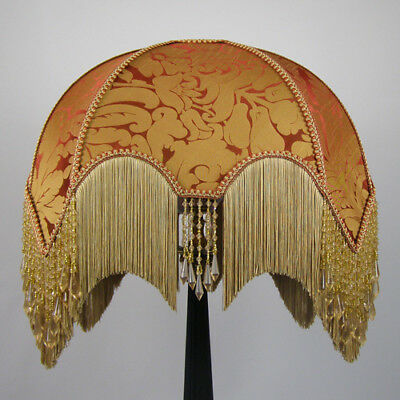 Victorian Vintage Standard  Beaded Lampshade REDUCED FROM £291.00 TO £247.00