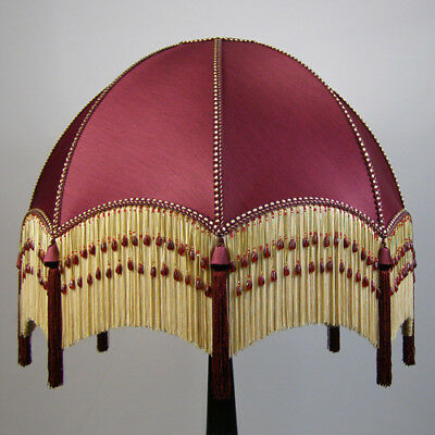 Victorian Vintage Standard Beaded Lampshade **REDUCED FROM £244.00 TO £225.00**