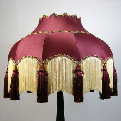 Victorian Vintage Standard  Beaded Lampshade **REDUCED FROM £236.00 TO £212.00**