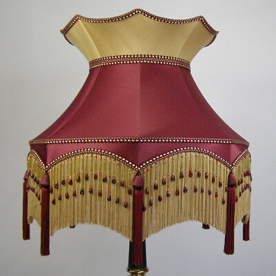 Victorian Vintage Standard  Beaded Lampshade **REDUCED FROM £277.00 TO £250.00**