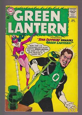 Green Lantern # 26 Star Sapphire Unmasks Green Lantern ! grade 4.0 scarce book !