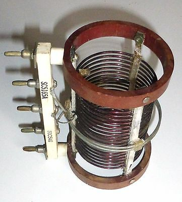 Coil C-447 (1739) for transmitter BC610 NOS box never open 8 MHz to 11 MHz