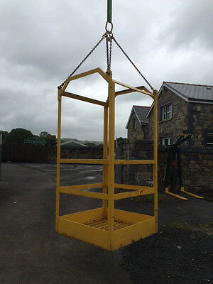 Crane Man Riding Basket / Cage 150kg SWL (£500+vat Or Best Offer)