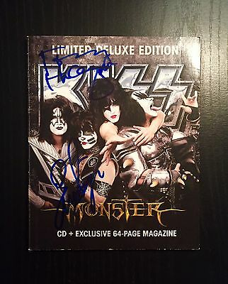 KISS Autographed MONSTER CD!! Exclusive WALMART version with Book!! SIGNED!!