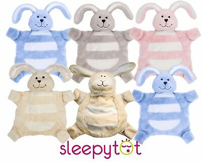 Sleepytot Baby Comforter Bunny Blanket Comfort Dummy Soother Holder Soft Toy