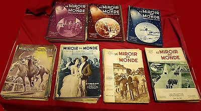 The Mirror of world : set 135 N° de 1931 a 1934 / cappiello ; salon the'auto
