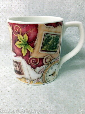 Royal Doulton Coffee Mug Designer Jane James 'stamps'