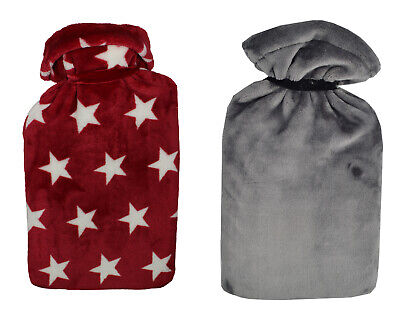 Vagabond 2.7L Fleece Hot Water Bottle & Cover