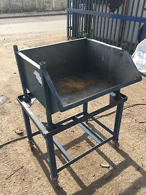 Metal Parts Bins with mobile stand