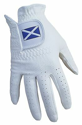 ACCLAIM Bowls Glove Scotland Saltire All Weather Ladies Antslip Synthetic