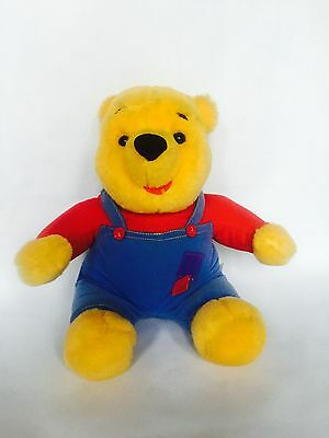1997 Disney Winnie ThePooh Hug Wiggle Nose Talking Plush Mattel Soft Plush Toy.