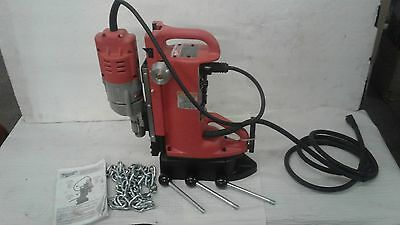 Milwaukee Electromagnetic Drill Press Base and 7.2 Amp Motor- Adjustable Positio