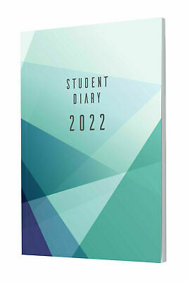 Colplan 2019 A5 Student Diary Planner Week to View WTV SC37 Case Bound NEW