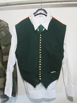 French Foreign Etrangere-2 REP-regulations set green vest + shirt white +tie
