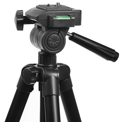 "Tripod Stand Camera-Video 50"" Tall Light Weight Aluminum with Travel Case Bag"