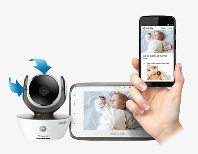 Motorola MBP853CONNECT Smart Connected Baby Monitors