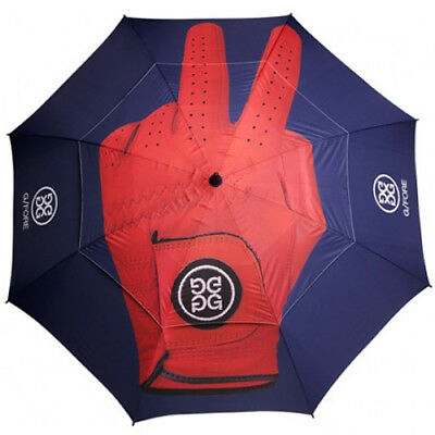 New- G/FORE Double Canopy Golf Umbrella In Peace Patriot