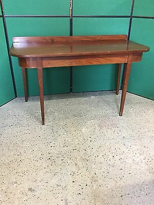 Antique Victorian Mahogany Console / Sofa / Side Table