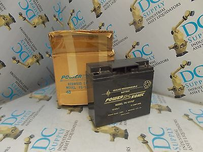 Power Sonic Ps-12170F 12 V 17 A Hrs Battery *in Box