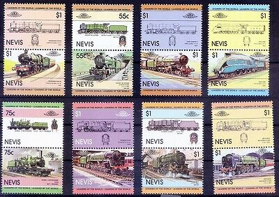 Nevis MNH, Railways, Trains, Locomotives - E36