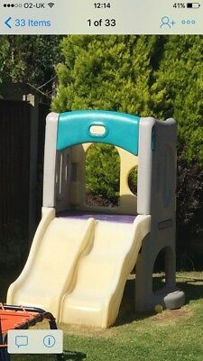 Little Tykes Double Cube Slide Climbing Frame Outdoor Toys CH45