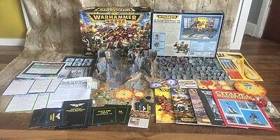 Warhammer 40k 2nd Second Edition Starter Set 1993 - Mostly Unused