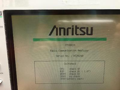 Anritsu MT8802A Radio Communications Analyzer, 300kHz to 3GHz see ad for options