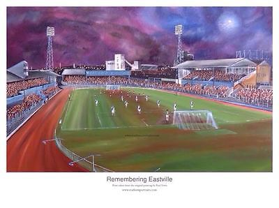 Bristol Rovers - Remembering Eastville unframed A3 print