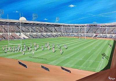 Halifax Rugby League Challenge Cup Final 1987 at Wembley 20'' x 30'' Box Canvas