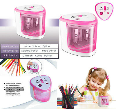 Best Electric Pencil Sharpener For Colored Pencils Kids Battery Operated New
