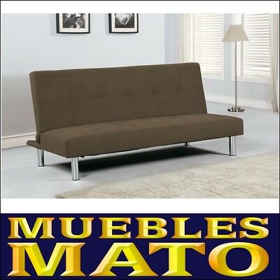 Sofa Cama Clic-Clac Beisbol Jarama Color Chocolate
