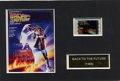 Back to the Future Cell Presentation 6 x 4