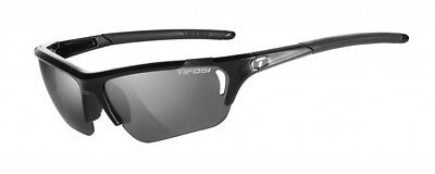 Tifosi Radius FC Sunglasses Gloss Black with Smoke/GT/EC Lenses
