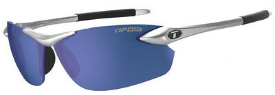 Tifosi Seek FC Metallic Sunglasses Metallic Silver/Blue