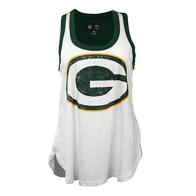 GIII 4her Women's NFL Green Bay Packers White Tank Top