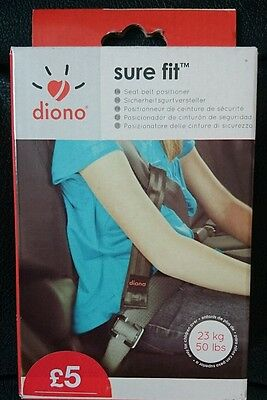 diono sure fit child's seatbelt positioner