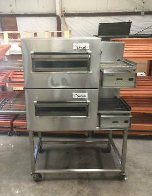 LINCOLN IMPINGER 1116-000-U Double Gas Conveyor Pizza Oven *RETAILS FOR $25,000*