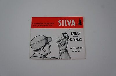 Vintage Silva Ranger Compass Instruction Manual