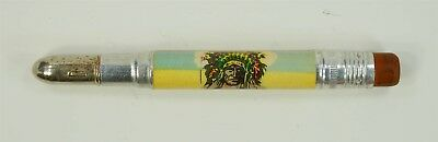 NEAR MINT Vintage Fort Pitt Block House Indian Bullet Pencil - Pittsburgh, PA